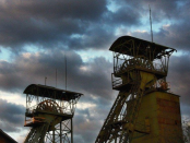 důl uhlí
